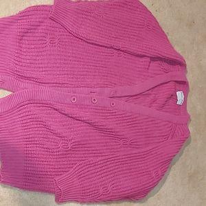 Pink vintage cardigan